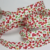 Cotton Bias Tape 14 3/4yds - Cherry-CLEARANCE