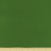 Cotton Flannel Fabric - Solid - Olive