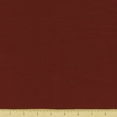 Cotton Flannel Fabric - Solid - Rust