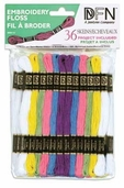 Cotton Embroidery Floss Value Pack - Spring 36 Piece