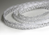 Cotton Lace - White -  33 Yards
