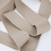 Cotton Twill Tape 1-3/8in.  - Beige - 55yds