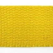 Cotton Webbing 1in. - Yellow - 22yds