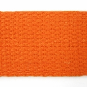 Cotton Webbing 1in. - Orange - 22yds