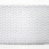 Cotton Webbing 1in. - White - 22yds