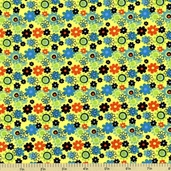 Cottonwood Small Floral Cotton Fabric