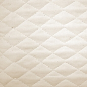 Country Quilted Cotton Muslin - Natural