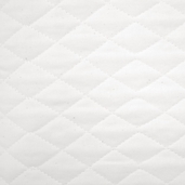 Country Quilted Cotton Muslin - White