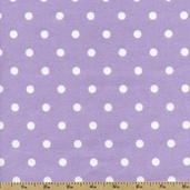 Cozy Cotton Dots Flannel Fabric - Lavender FIN-9256-23 LAVENDER