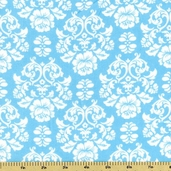 Cozy Cotton Flannel Fabric  -  Aqua
