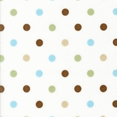 Cozy Cotton Flannel Fabric - Chocolate