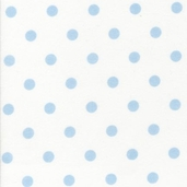 Cozy Cotton Flannel Fabric - Sky