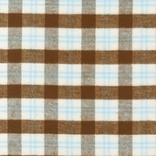 Cozy Woven Cotton Flannel Fabric - Aqua