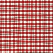 Cozy Woven Cotton Flannel Fabric - Crimson