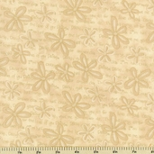 Creamery Neutrals II Cotton Fabric Floral 1395-44 - CLEARANCE