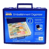 Cropper Hopper 11.5 inch x 9.5 inch Double Sided Embellishment Organizer