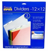 Cropper Hopper 12 inch x 12 inch Dividers - Discontinued