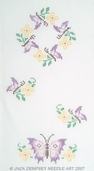Jack Dempsey Table Runner/Scarf - Butterflies