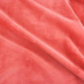 Cuddle 3 Minky Polyester Fabric - Cherry