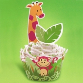 Cupcake Wraps n Pix - Jungle Pals