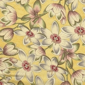 Curio Cotton Fabric - Yellow