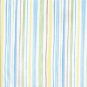 Cutie Pie Cotton Fabric - Blue
