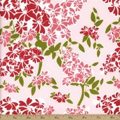 Dainty Blossoms Cotton Fabric - Pink C2761
