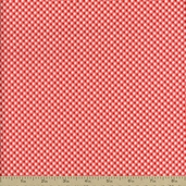 Dainty Mix Mini Gingham Cotton Fabric - Red