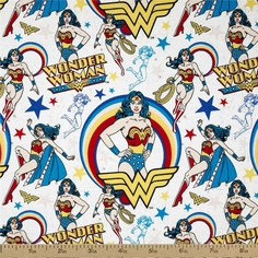 Popular Characters Fabric