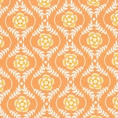 Decadence Cotton Fabric - Orange