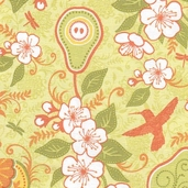 Decadence Cotton Fabrics - Green