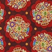 Deco Park Cotton Fabric - Autumn
