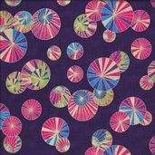 Deco Park Cotton Fabric- Jewel