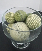 Decor Balls Assorted Sizes- Green