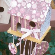 Decorated Birdhouse
