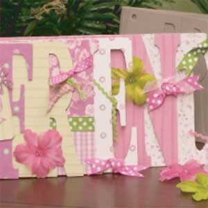 Decorated Word Album