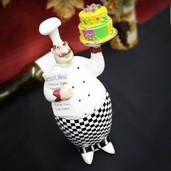 Decorative Chef - Checkered Baker
