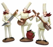 Decorative Chef - Musical Trio Set