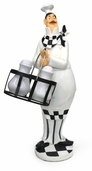 Decorative Chef - Salt and Pepper Shaker