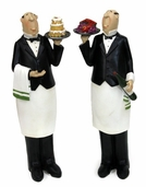 Decorative Chef - Waiter Pair