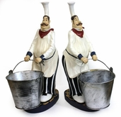 Decorative Chef - Wine Bottle Holder