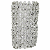 Decorative Cuff - Beaded - Clear