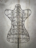 Decorative Dress Form 55in - Antique - Clearance