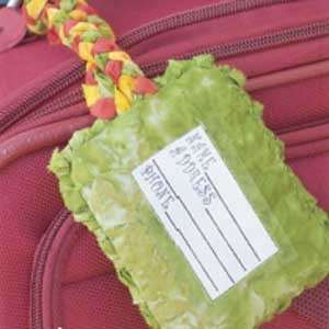 Decorative Luggage Tag