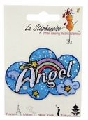 Decorative Patches - Angel Cloud with Rainbow