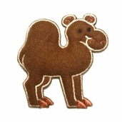Decorative Patches - Brown Camel