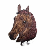 Decorative Patches - Brown Horse