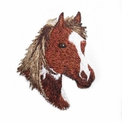 Decorative Patches - Light Brown Horse