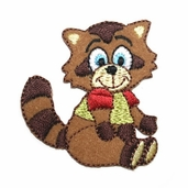 Decorative Patches - Raccoon