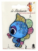 Decorative Patches - Sequin Seahorse